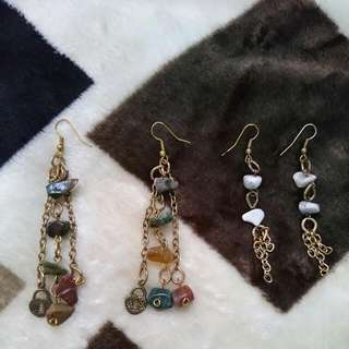 ***Repriced!***Earrings with Stones