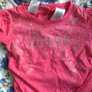 Girls Baby Guess Shirt 12m