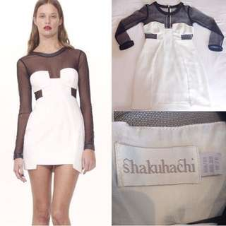 Shakuhachi Cut Out Dress Mesh