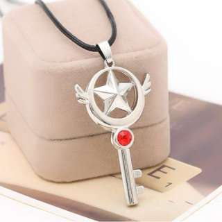 ♠[PO] Cardcaptor Sakura Star Key Necklace
