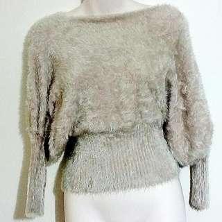 LovelyGirl Faux Fur Sweater