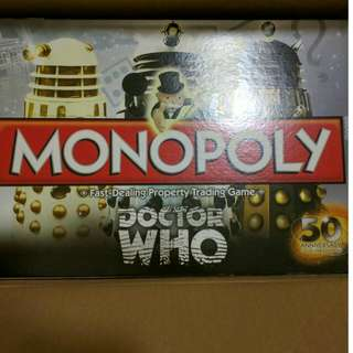 Doctor Who 50Yrs Monopoly #MidNovember50