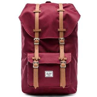 [OUT OF STOCK] Herschel Little America Windsor Wine, Mid Volume 16.5L