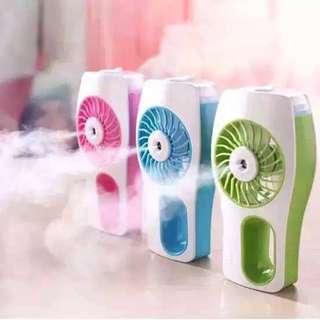 3-IN-1 Beauty Mist Fan (Rechargeable)