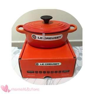 🌸 LeCreuset 🌸 17cm 橢圓形鍋 🌸