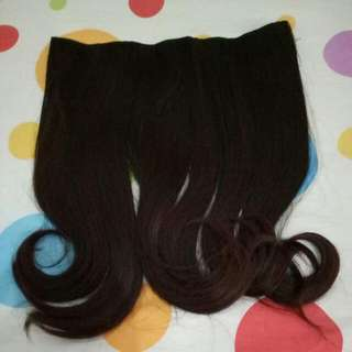 Pink Glitter Hair Clip