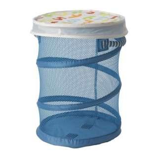 IKEA Kusiner 衣籃(藍色)