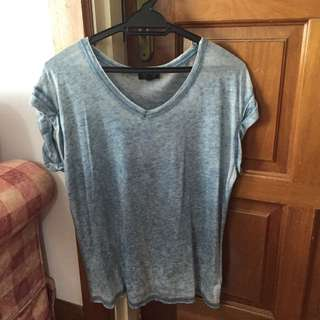 TOPSHOP Blue Top (REDUCED)