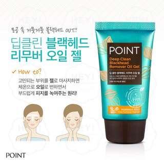 Point Deep Clean Blackhead Remover Oil Gel