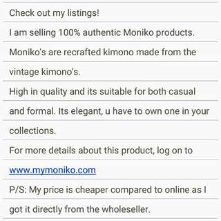 Moniko Products