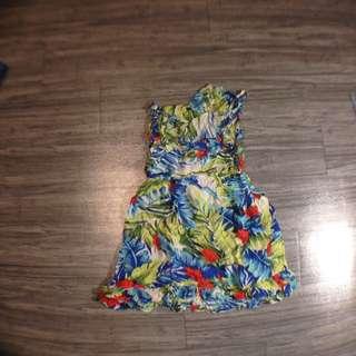 銅板價✨渡假風連身短裙