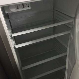 Fridge: Fisher & Paykel, Stainless Steel (small)