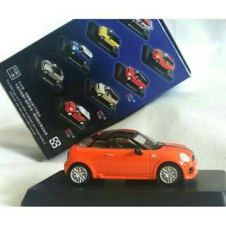MINL組裝模型玩具車 完成品