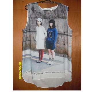Mogao long blouse