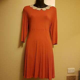Topshop Retro Preppy Dress