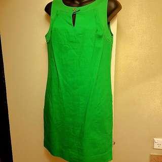 Vintage Green Shift Dress