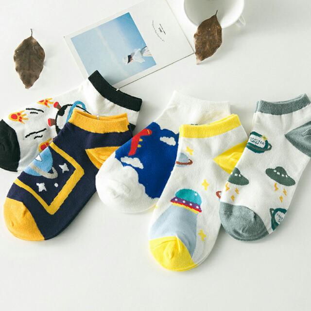 👍超回饋價5雙$160➡純綿襪子5雙一組