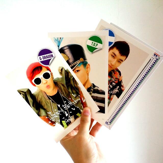 絕版 Bigbang VIP Japan 生日禮 正版 Avex 生日賀卡卡片組 限量 Top Gd Vi Sol Dlite 大聲 志龍 太陽 崔勝鉉 勝利 全新