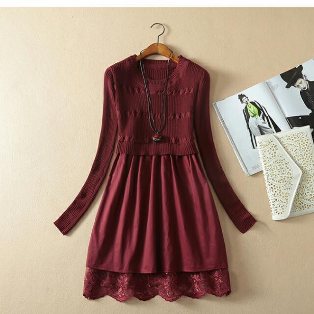 洋裝  秋冬