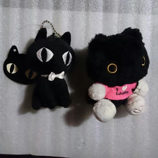 黑貓 毛絨吊飾
