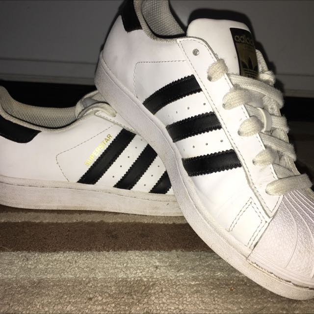 Adidas Superstar Black And White Originals