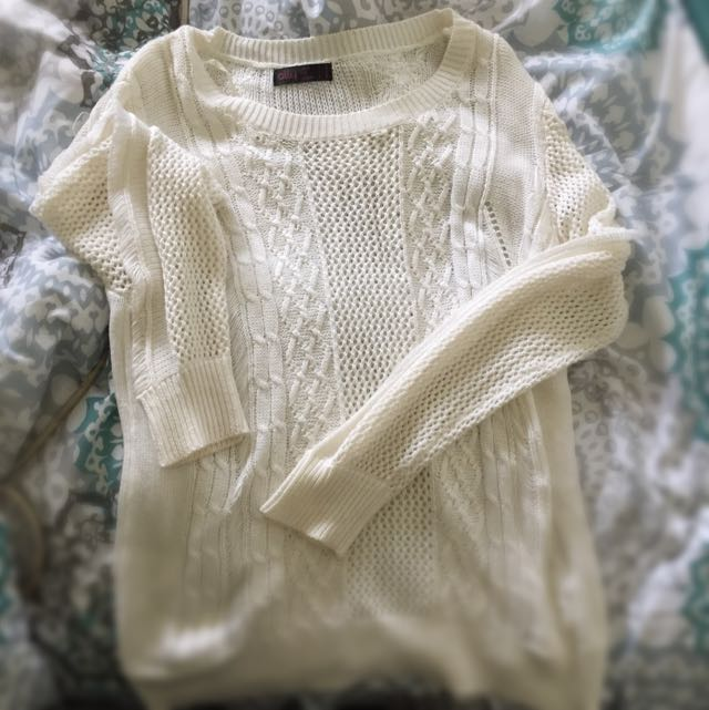 Ally Fashion See Through Knit