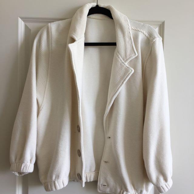American Apparel Ottoman Rib Jacket