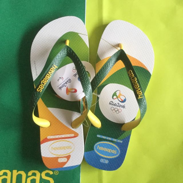 8454b165ee0 Authentic Havaianas Olympic Rio 2016
