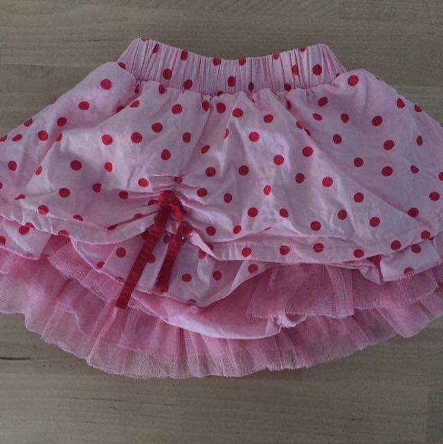 Baby Girls Bebe Skirt Size 00