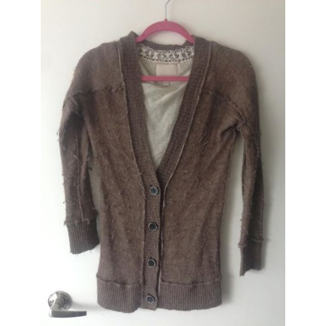 Banana republic brown alpaca sweater size small $20