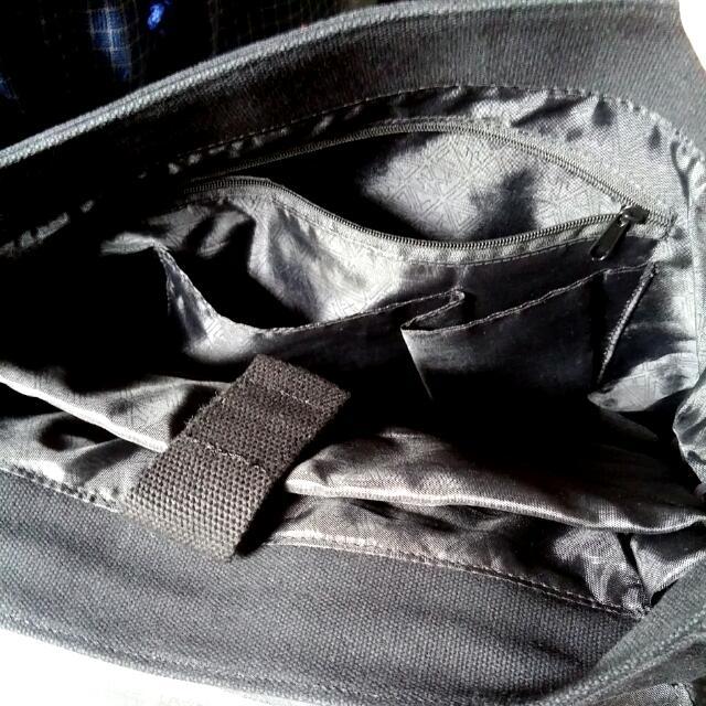 Black Messenger Bag (Marithe Francois Girbaud)