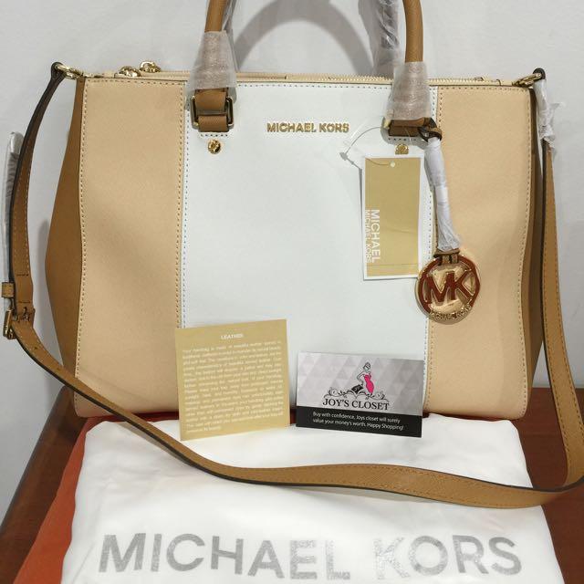Brand New.100% Authentic Michael Kors Sutton 2-way Bag