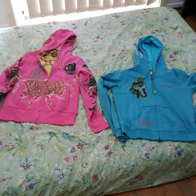 Christian Audigour And Ed Hardy Jumper