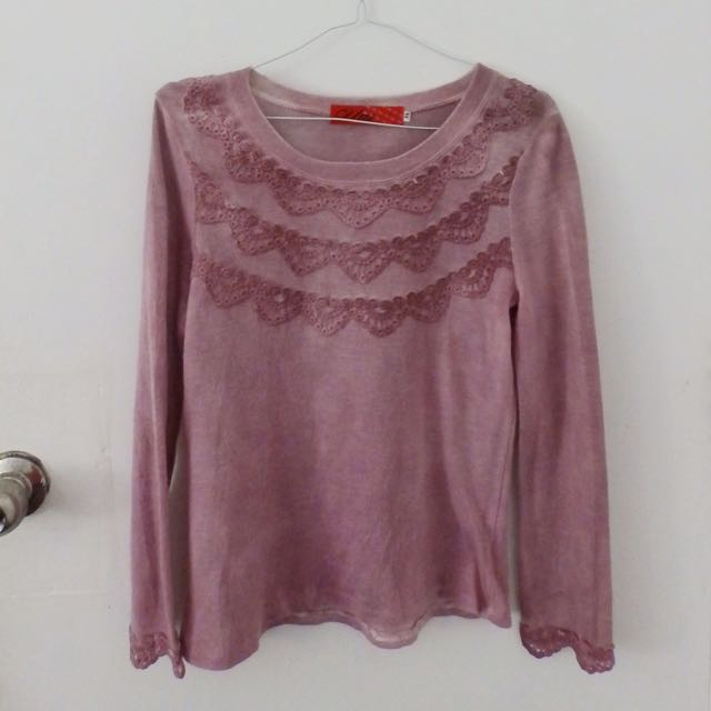 Comfy Rosy Long Sleeves