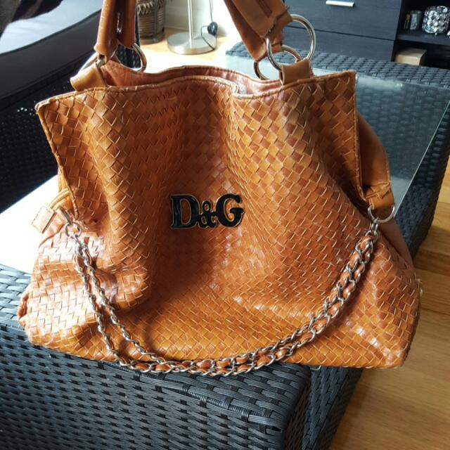 D&G Replica But Genuine Leather