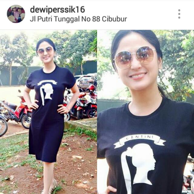Dress Fans Dewi Persik