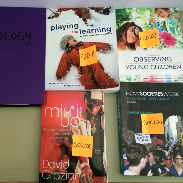 Early Childhood Textbooks! (Ryerson)