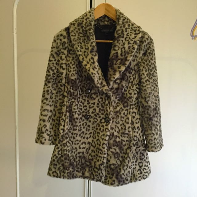 Forever New Leopard Jacket