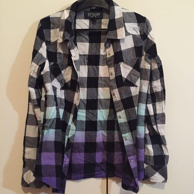 Fox Collared Shirt