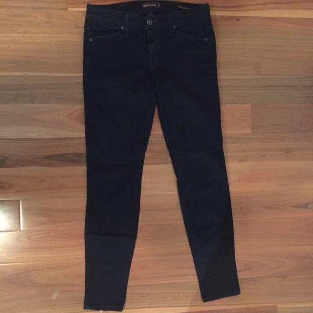 Genetic Denim Black Skinny Jeans
