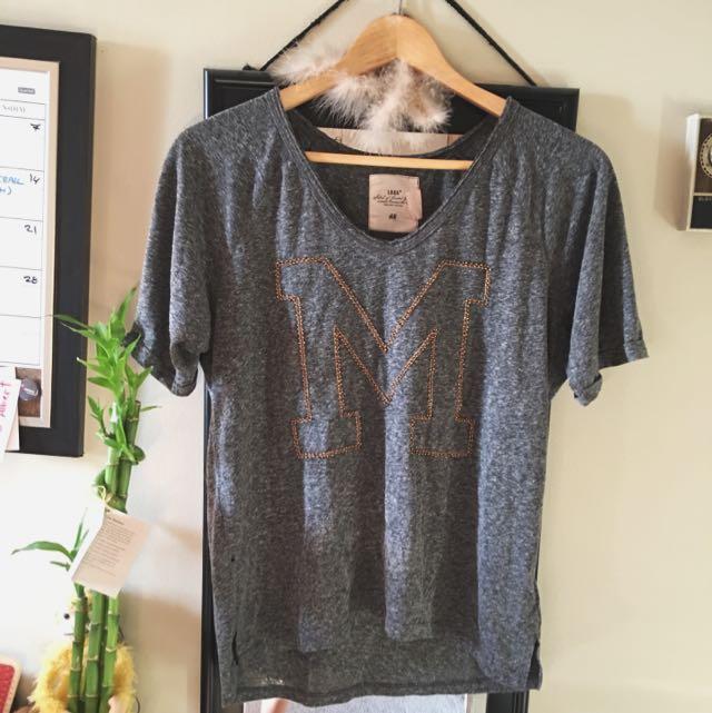 Grey 'M' T-Shirt