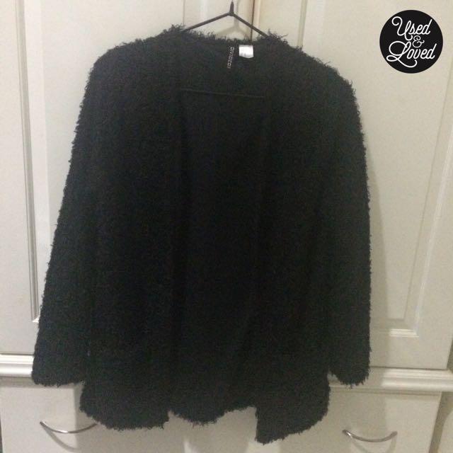 H&M - Black Polyester Cardigan