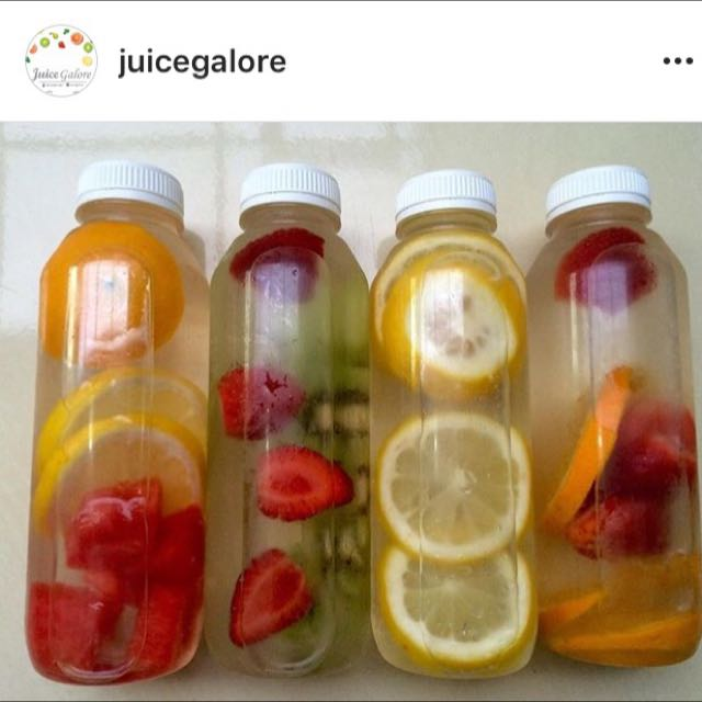 Infused Water By Juice Galore