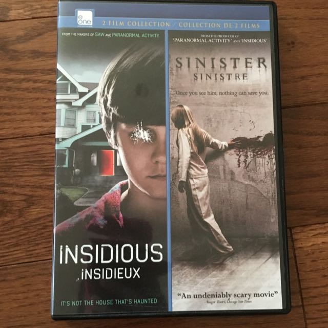 Insidious & Sinister : 2 Film Collection