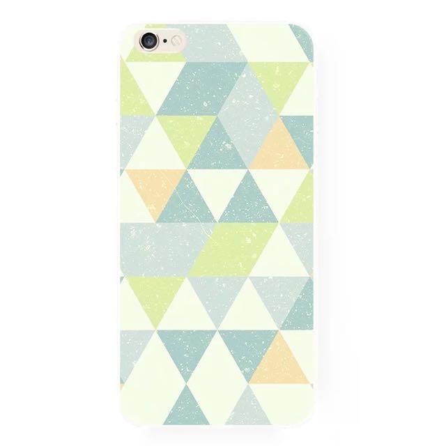 三角幾何iPhone手機殼(A)