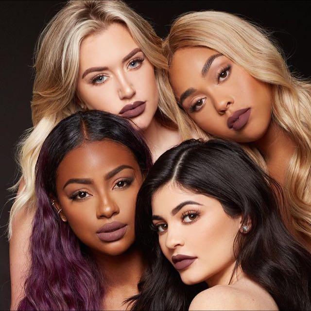 Kyliecosmetics- love bite dirty peach brown sugar