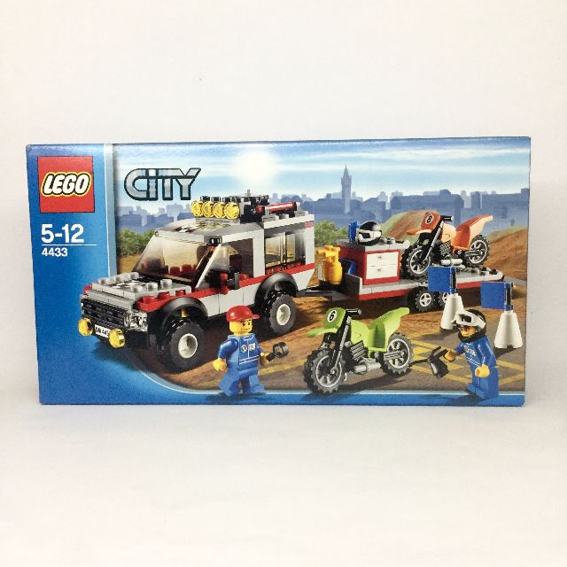 LEGO City: Dirt Bike Transporter (4433)