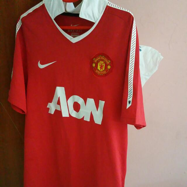 more photos 85076 aa608 Manchester United Home Kit 2010/11