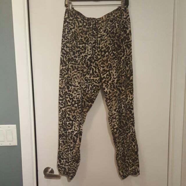 Massimo Leopard Pants