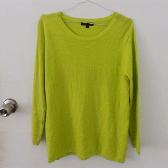 Neon Green Long Sleeves